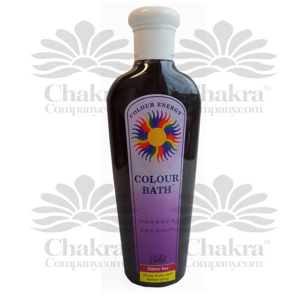 Violet Colour Bath