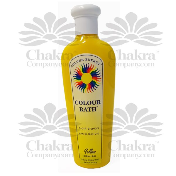 Yellow Colour Bath
