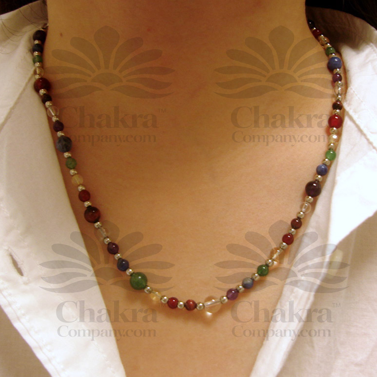 Chakra Round Necklace