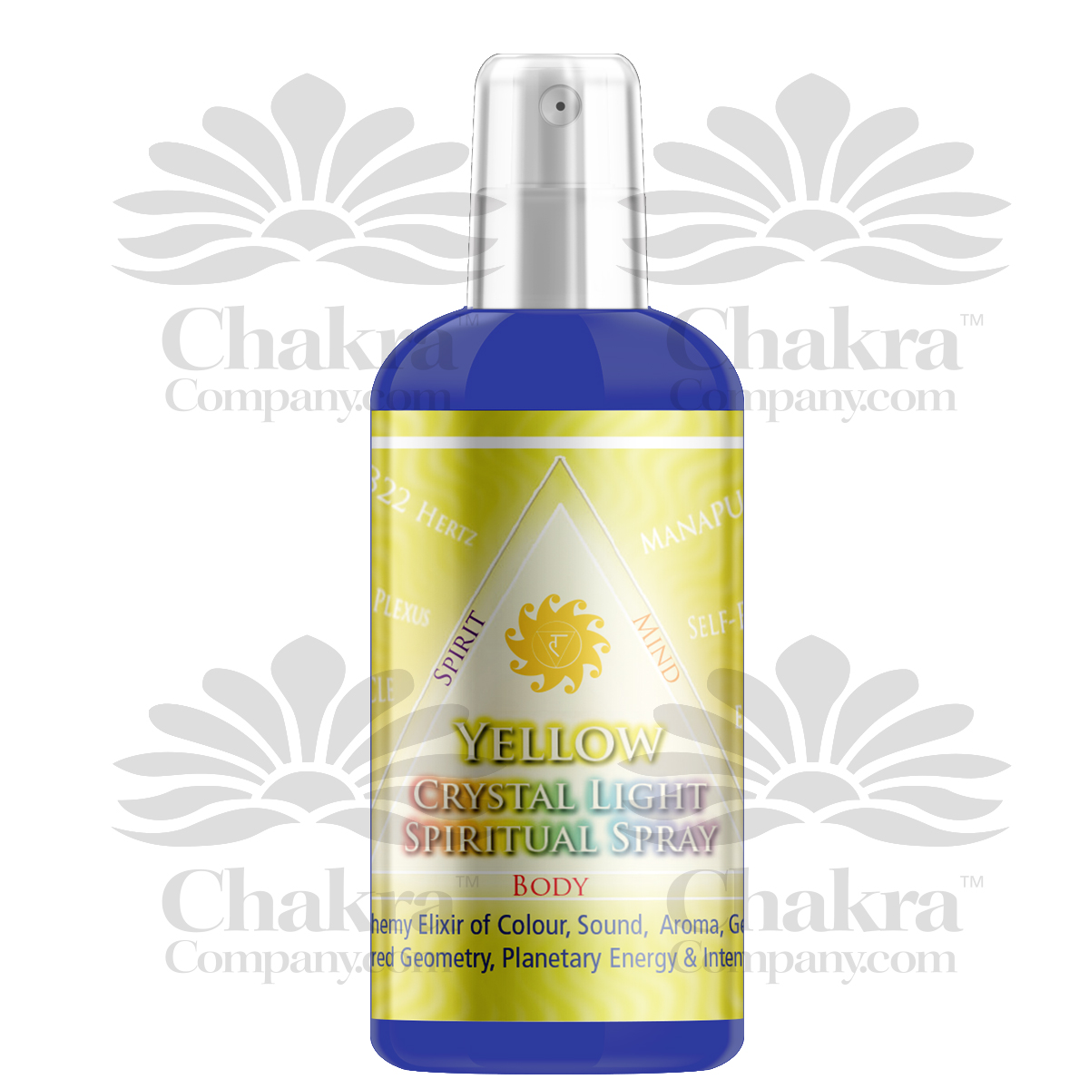 Yellow Spiritual Spray